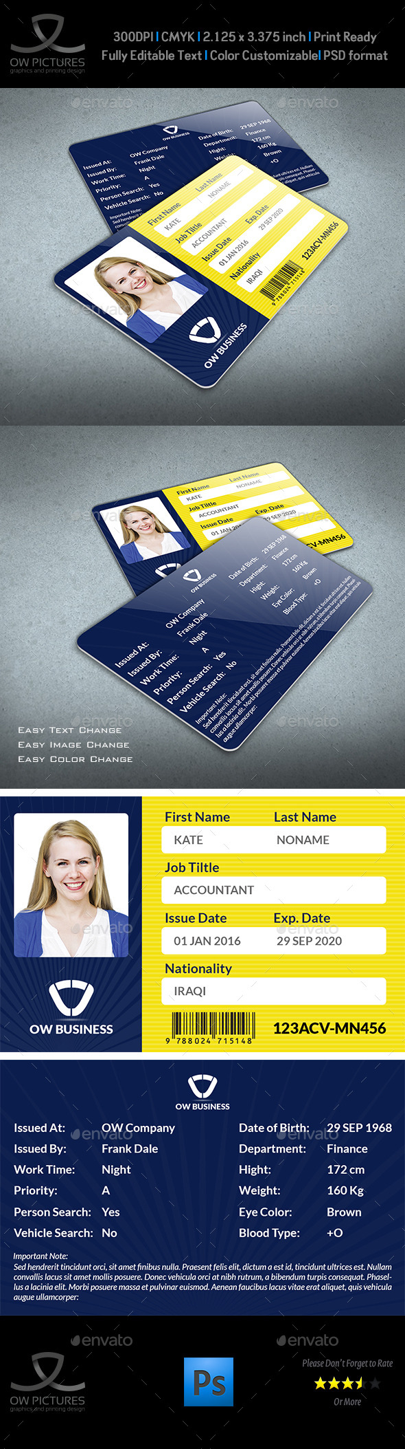 Graphics Designs Card amp; Id From Templates Template Graphicriver