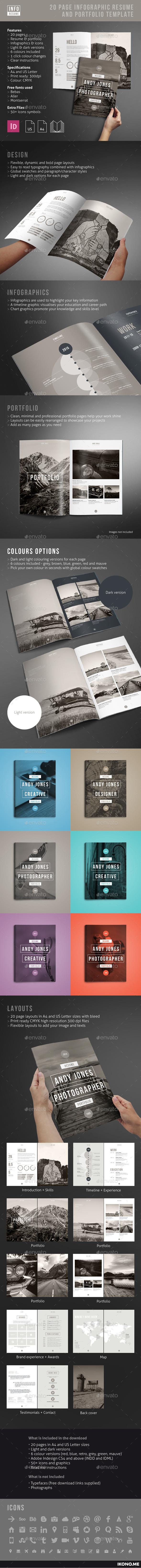 Portfolio Cv Graphics Designs Templates From Graphicriver
