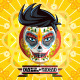 Dia De Los Muertos Day Of The Dead Face Painting - GraphicRiver Item for Sale