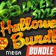65 Layer Style Halloweeen Mega Bundle - GraphicRiver Item for Sale