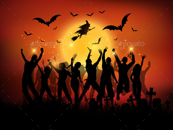 Halloween Party Background