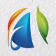 Andro Web / Website Design / Letter A / Logo A / Media / Studio / Global / 3D Logo Templates - GraphicRiver Item for Sale