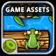 Jumper Frog Game Assets  - GraphicRiver Item for Sale