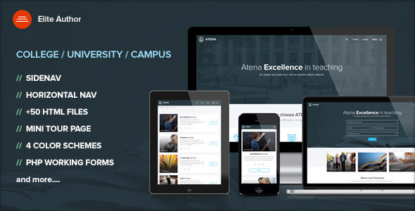 Atena - College and University template