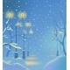 Evening Winter Park - GraphicRiver Item for Sale