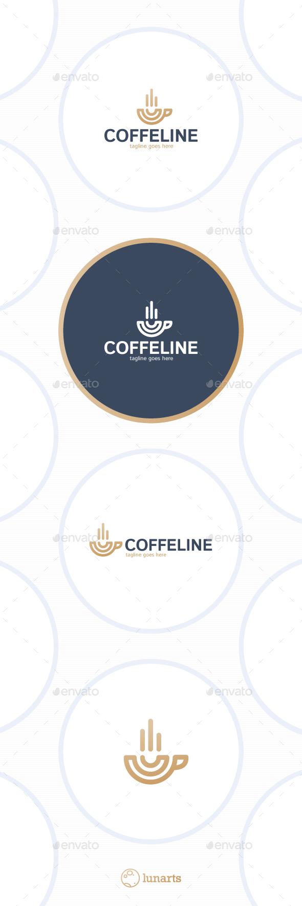 Coffe Logo - Line Cup