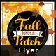 Fall Pumpkin Patch Flyer - GraphicRiver Item for Sale