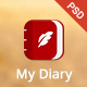 My Diary - UI Mobile Kit - GraphicRiver Item for Sale