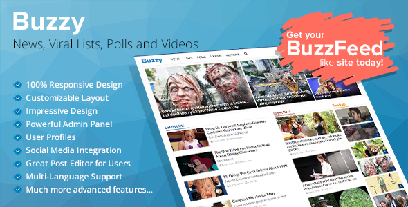 Codecanyon | Buzzy - News, Viral Lists, Polls and Videos Free Download #1 free download Codecanyon | Buzzy - News, Viral Lists, Polls and Videos Free Download #1 nulled Codecanyon | Buzzy - News, Viral Lists, Polls and Videos Free Download #1