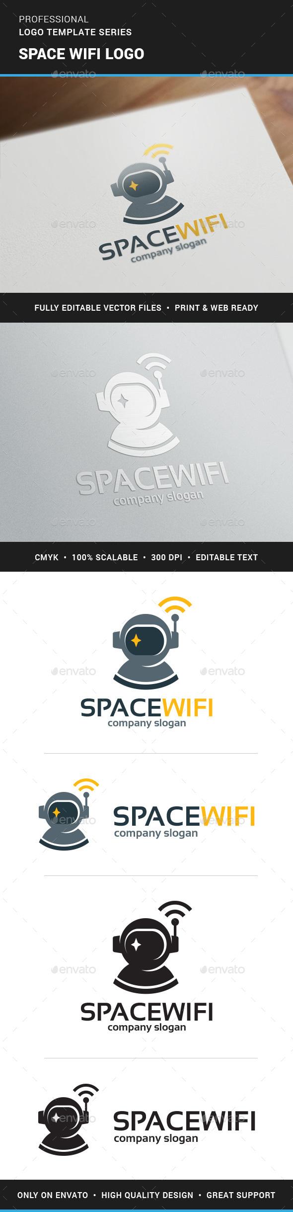 Space Wifi Logo Template