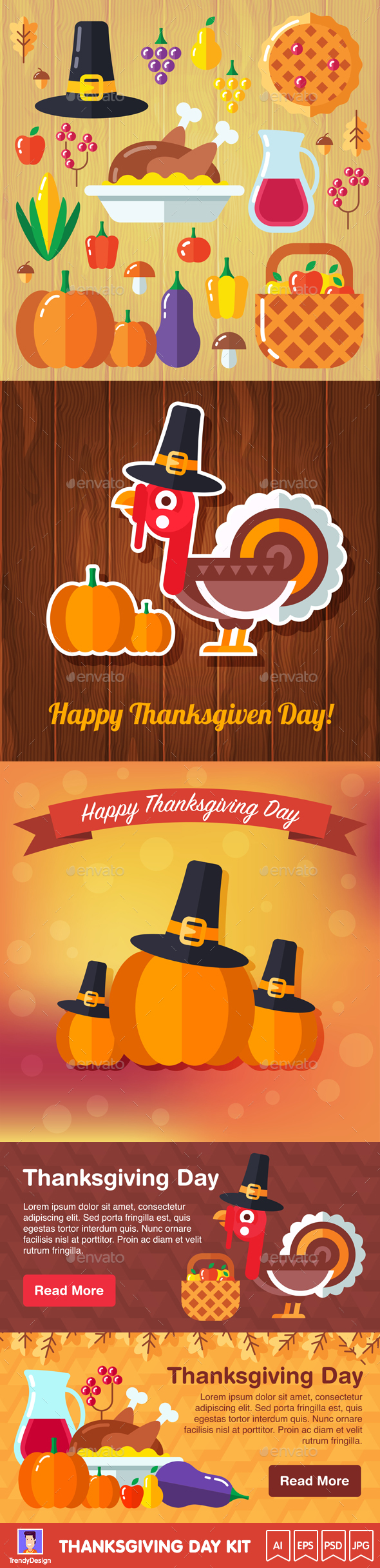 Thanksgiving Day Kit