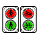 Traffic Lights Flat Set - GraphicRiver Item for Sale