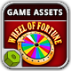 Wheel of Fortune Game Assets - GraphicRiver Item for Sale