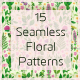 15 Seamless Floral Patterns - GraphicRiver Item for Sale