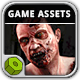 Zombie Invasion Game Assets - GraphicRiver Item for Sale