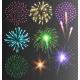 Festive Colorful Bright Firework Salute Burst - GraphicRiver Item for Sale