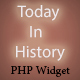 Today In History - PHP Widget ( Wordpress - Joomla - html - and more ) - CodeCanyon Item for Sale