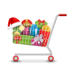 Sale Shopping Cart with Gift Boxes and Bags - GraphicRiver Item for Sale
