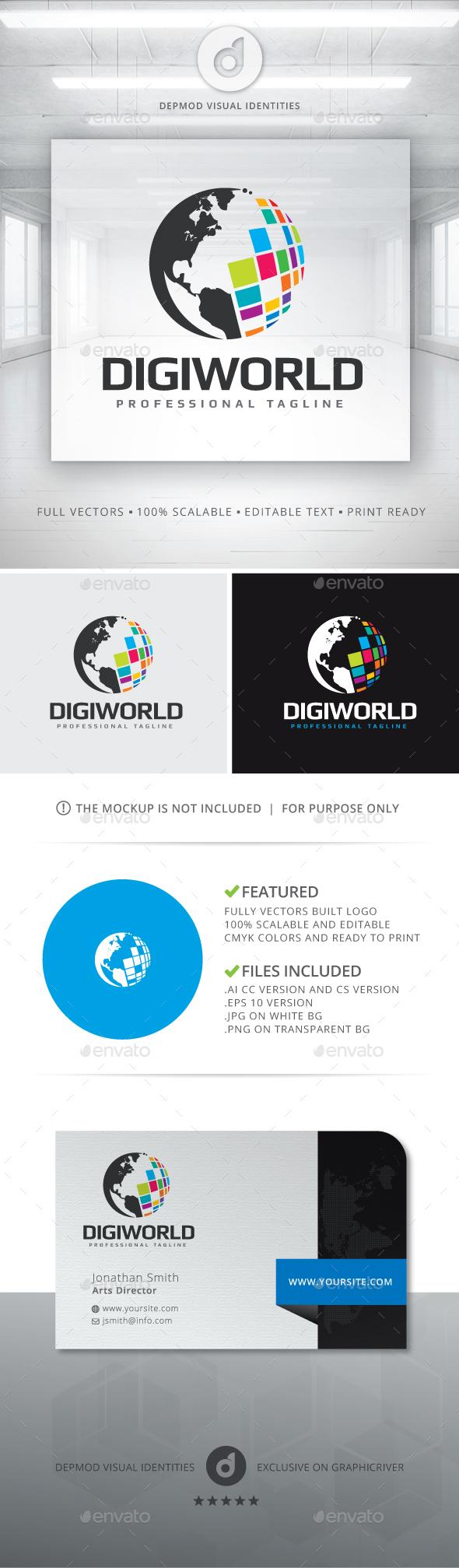 DigiWorld Logo
