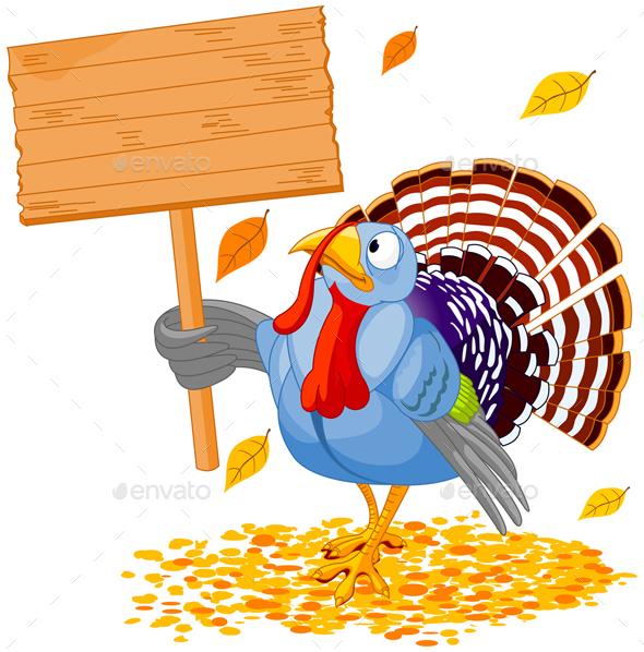 Turkey & Sign