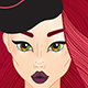 Young Woman Fashion Illustration Set - GraphicRiver Item for Sale