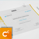 Modern Certificate v4 - GraphicRiver Item for Sale