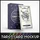 Tarot Card Mockup - GraphicRiver Item for Sale