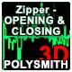 Zipper Open and Closing