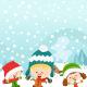 Happy Winter Kids - GraphicRiver Item for Sale