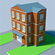 Low Poly Houses - 3DOcean Item for Sale