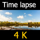 Clouds Over Tropical Lake. - VideoHive Item for Sale