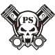 Piston Skull - GraphicRiver Item for Sale