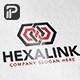 Hexagon Link - Infinity Hexagon Logo - GraphicRiver Item for Sale