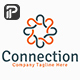Connection Logo - GraphicRiver Item for Sale