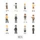 Set of Men - GraphicRiver Item for Sale