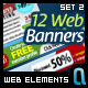 Web Banners Set 2 - GraphicRiver Item for Sale
