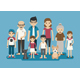 Family Character - GraphicRiver Item for Sale
