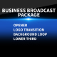 Business Broadcast Package - VideoHive Item for Sale