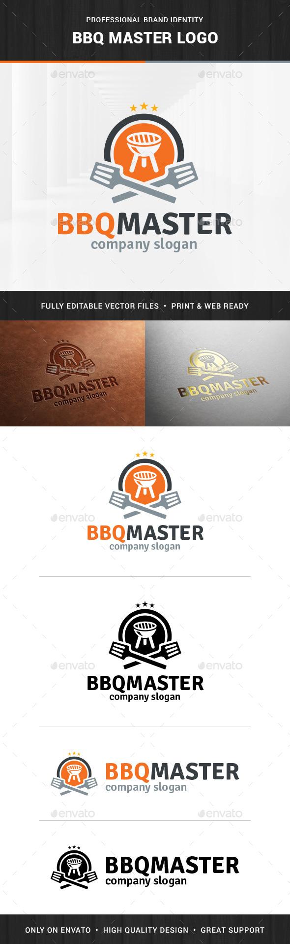 BBQ Master Logo Template