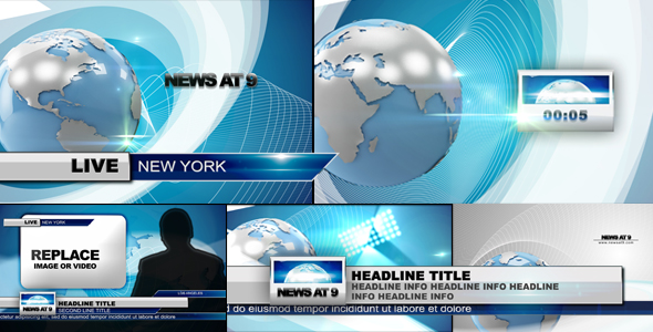 News Pack After Effects Templates from VideoHive