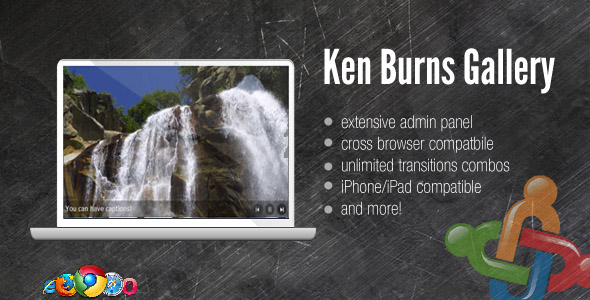 DZS Ken Burns Gallery /w Admin Panel - For Joomla