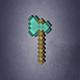 Minecraft Axe - 3DOcean Item for Sale