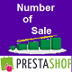 Display Product Number of Sale For Prestashop - CodeCanyon Item for Sale