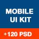 Hexagon Mobile UI Kit - GraphicRiver Item for Sale
