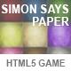 Simon Says Paper - CodeCanyon Item for Sale