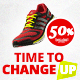 Product Sale Sport Shoes Web Banners  - GraphicRiver Item for Sale
