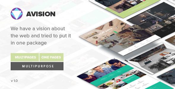 Avision - MultiPurpose Drupal 7.6 Theme