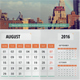 Year Calendar 2016 - GraphicRiver Item for Sale