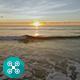 Beach Sunrise Aerial 3 - VideoHive Item for Sale