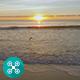 Beach Sunrise Aerial 5 - VideoHive Item for Sale